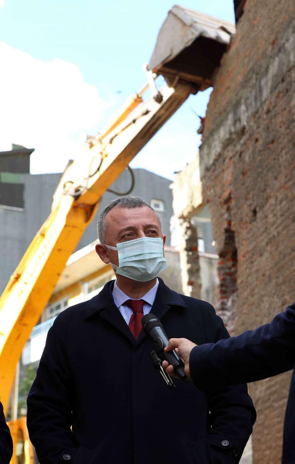 """Başkan Büyükakın, """"Kocaeli'nin depreme hazırlıklı olması için var gücümüzle çalışacağız"""""""
