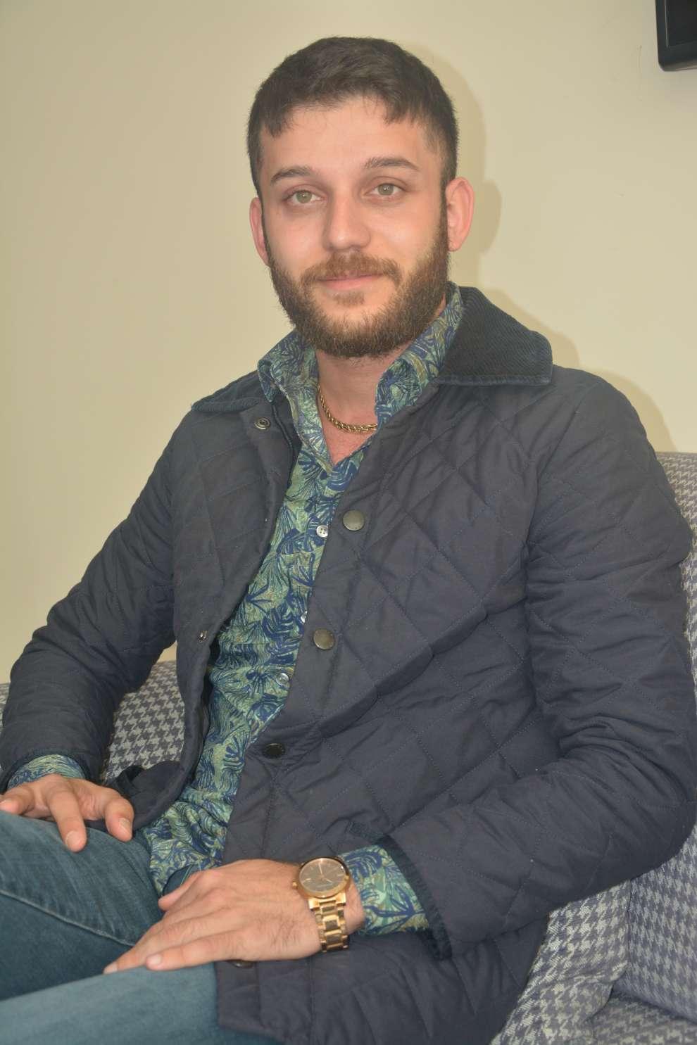Genç iş insanı Mehmet Bilir