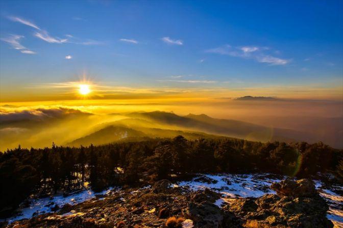 Murat Dağının zirvesinden muhteşem görüntüler