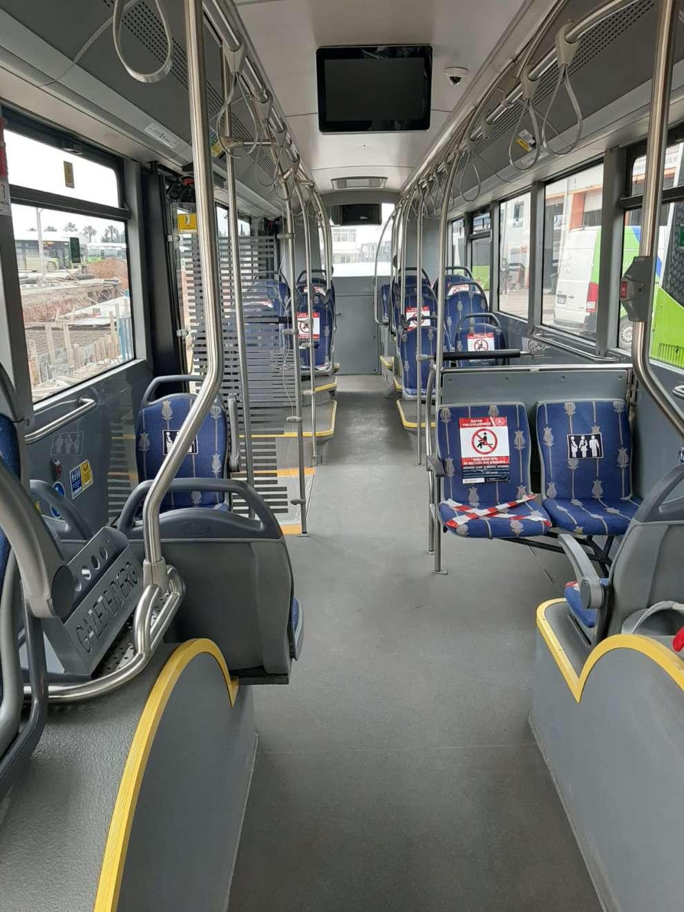 UlaşımPark, otobüslerinde yoğunluğa izin vermiyor