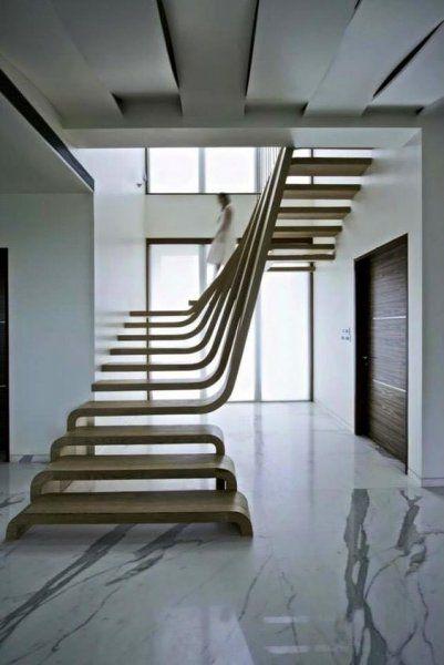 Yaratıcı merdiven tasarımları