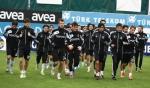 Beşiktaş'ta neşeli kupa antrenmanı