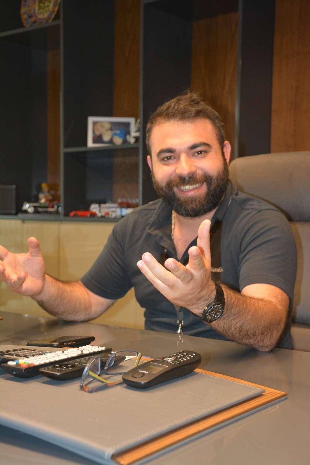 Aker Holding Yönetim Kurulu Başkanı Eren Ertuğrul Işık ve ekibi