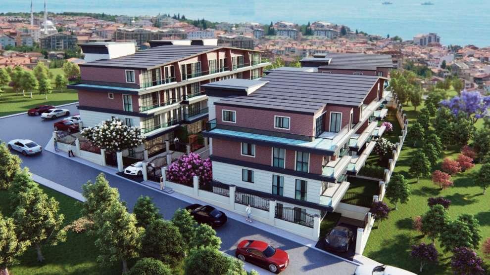 Kanıt İnşaat'ın Darıca'da yapımına başlayacağı ''Teras Evler ''