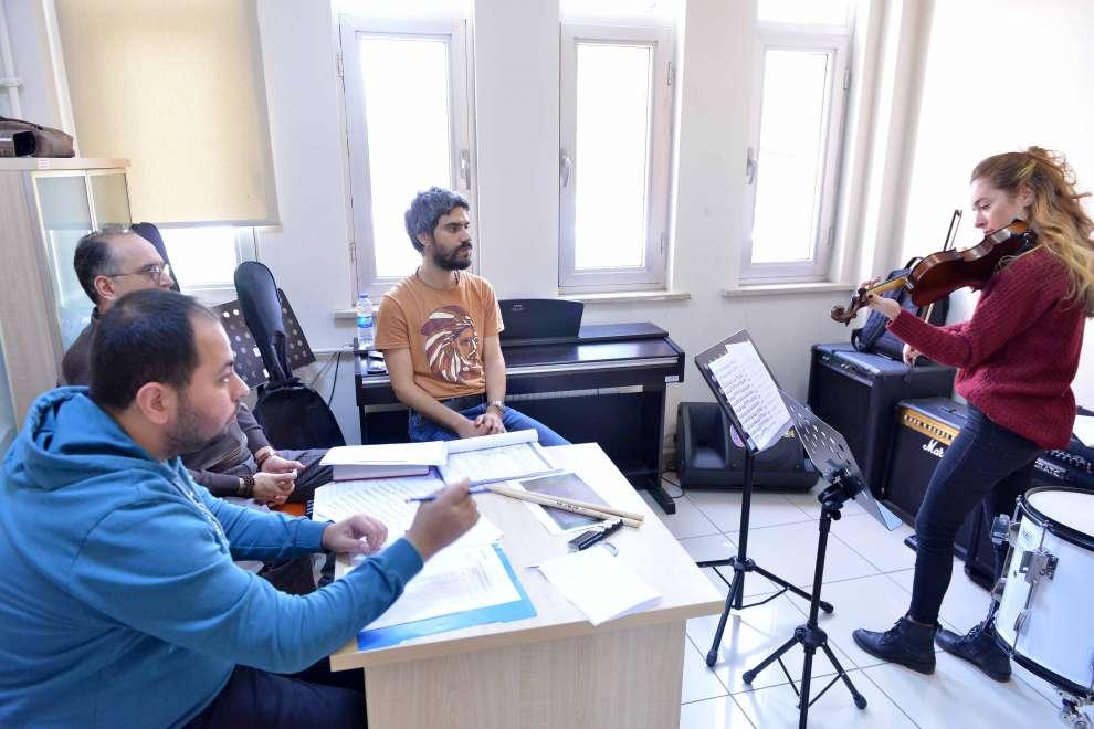 Oda Orkestrası seçmeleri yapıldı