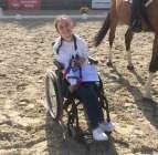Gebze Atlı Spor Kulübü sporcusu olan ve yüzde 99 engelli raporu bulunan Canan Doğan
