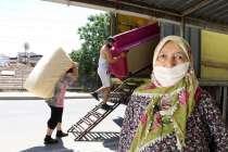 """""""Köye Dönüş"""" projesine başvuran Güzey ailesi, Giresun'a taşındı."""