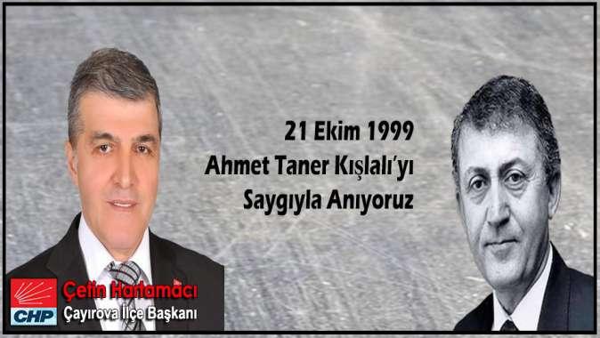 Ahmet Taner KIŞLALI'nın Ölüm Yıl Dönümü