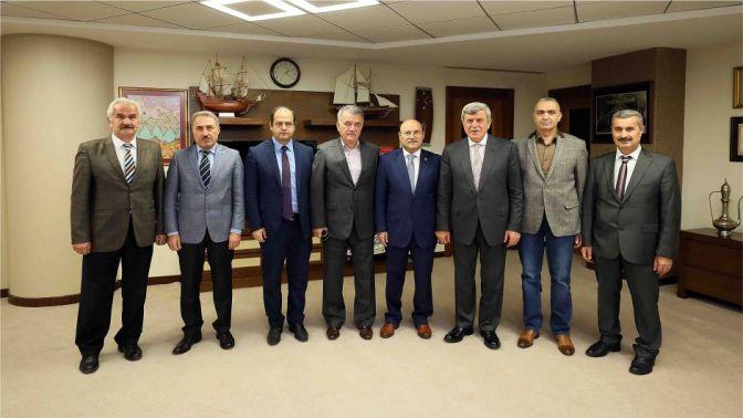 Başkan Karaosmanoğlu, Bem-Bir-Sen Genel Başkanını konuk etti