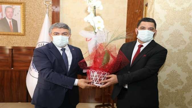 Başkan Şayir, Dilovası Ağrılılar Derneği'ni ağırladı