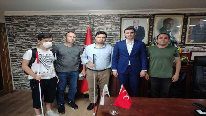 Beyazay'dan MHP'ye ziyaret