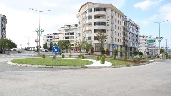 Çayırova'da iki dönel kavşağa düzenleme