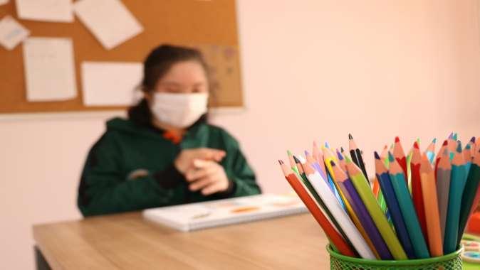 Cemil Meriç'te koronavirüs önlemleriyle bireysel eğitimler sürüyor