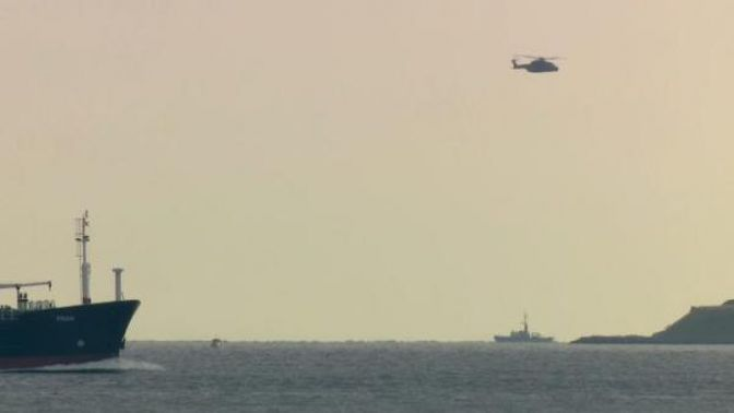Danimarka'da kayıp olan denizaltı bulundu