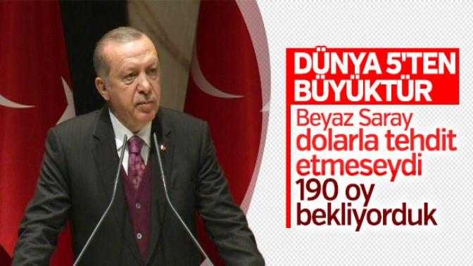 Erdoğan, BMnin Kudüs kararını değerlendirdi