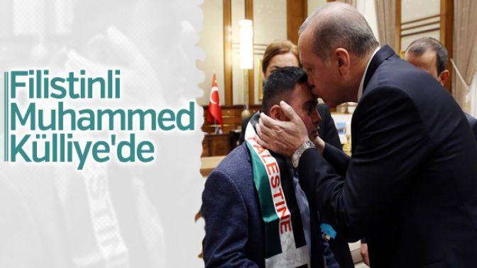 Erdoğanın kabulü: Filistinli Muhammed