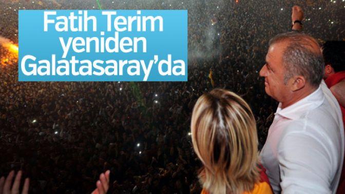 Fatih Terim Galatasarayda