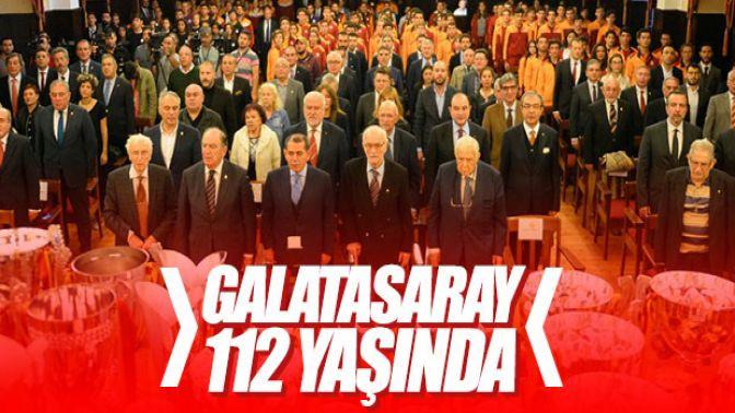 Galatasarayın 112. yılı kutlandı