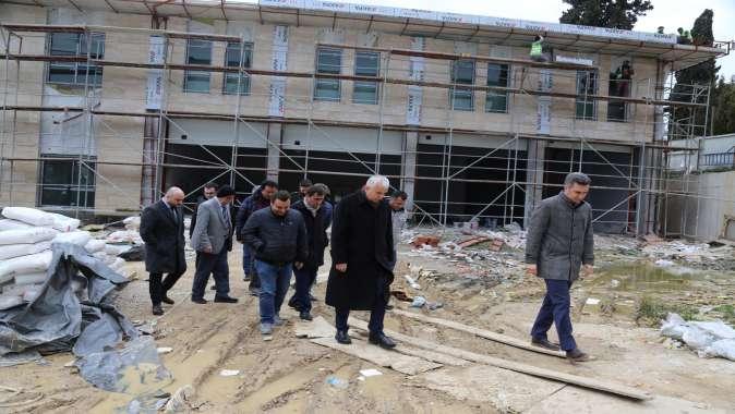 Gündoğdu, Bağçeşme itfaiyesi binası için 31 Mart sözü aldı