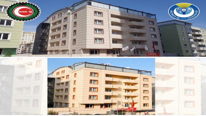 Hizmet- İŞ Ankara'daki misafirhanesini , sağlık çalışanlarına tahsis etti