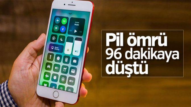 iOS 11de batarya problemi