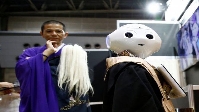 Japonlar robot budist rahip yaptı