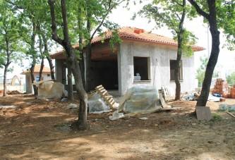 Kerpe'deki bungalovlu mesire alanı tamamlanıyor
