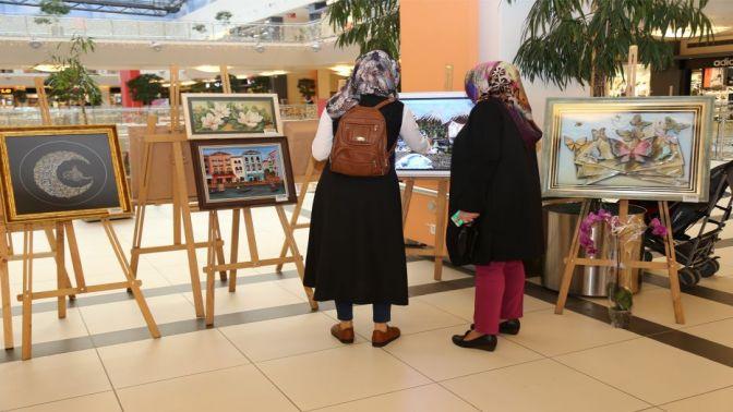 KO-MEK'in üç boyutlu resim sergisine büyük ilgi