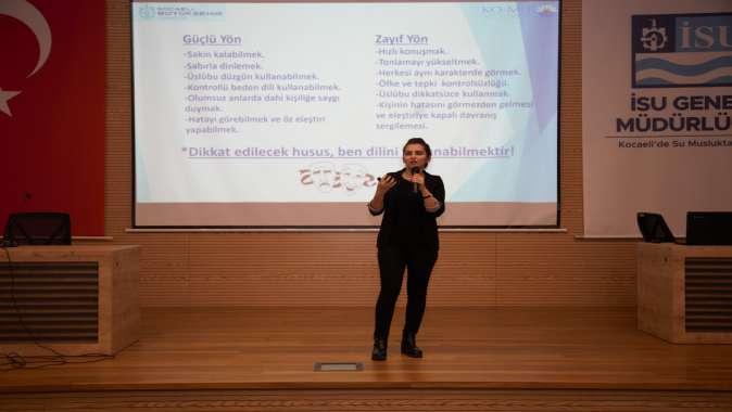 KO-MEK'ten İSU'ya Etkili İletişim Semineri