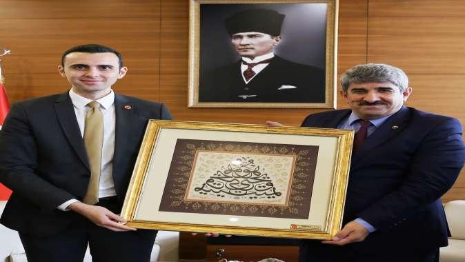 KOTO Başkanı Bulut'a MHP İl Başkanı Kurt'tan ziyaret