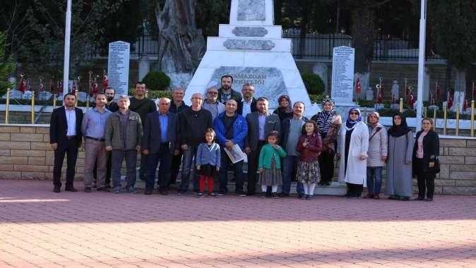 Kültür elçisi öğretmenler, tarih gezisine çıktı