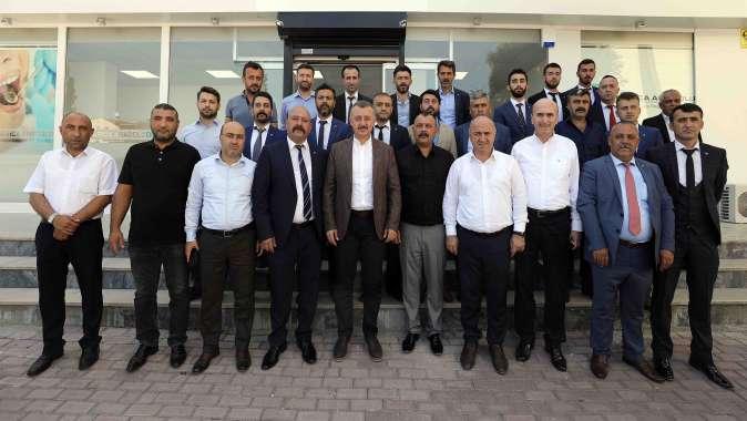 MHP Darıca ilçe yönetimini ziyaret etti.