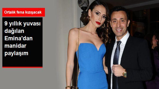 Mustafa Sandal'dan Ayrılacağı Konuşulan Emina Sandal'dan İmalı Paylaşım