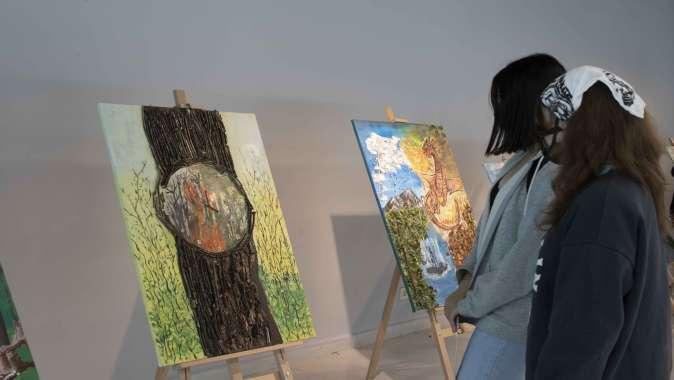 ''Ormanlarımız Yok Olmasın''sergisi Ormanya'da