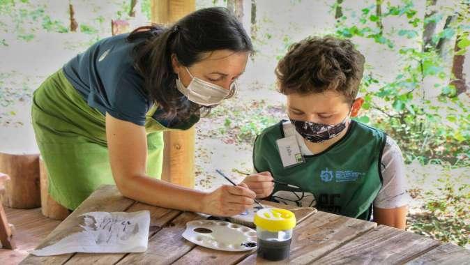Ormanya Doğa Okulu'nda ilk eğitimler başladı