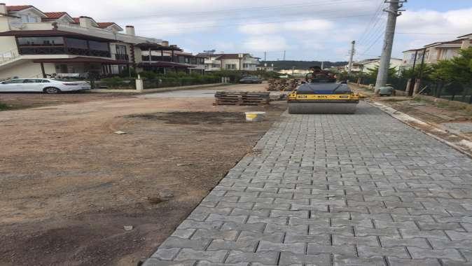 Sahil bölgelerindeki yollar onarılıyor