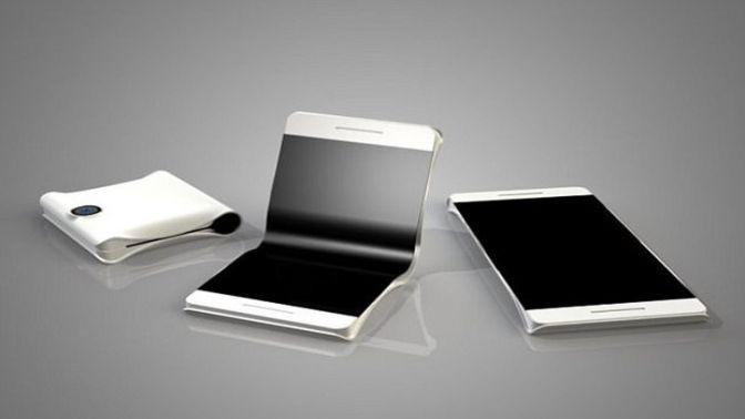 Samsung katlanabilir telefonlar üretecek