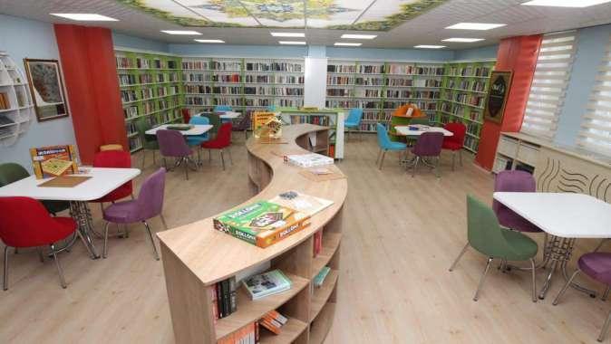 Şehit öğretmenin adına kütüphane kuruldu