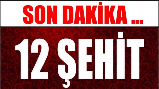 Son dakika: Tunceli'de helikopter düştü: 12 şehit