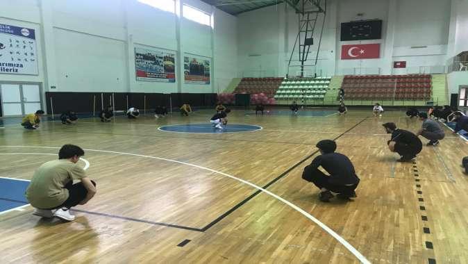 Spor ve Polis Akademisi hazırlık kursları devam ediyor
