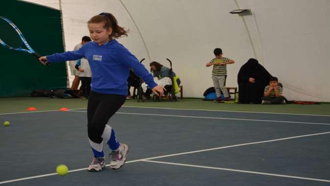 Tenisin Yıldızları Darıca'da Doğuyor