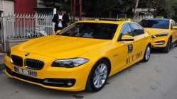230 bin liralık lüks otomobili taksi yaptı!