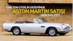 5 milyon sterlin değerinde Aston Martin satışı gerçekleşti.