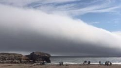 ABD'de gökyüzünü kaplayan dev bulut korkuttu