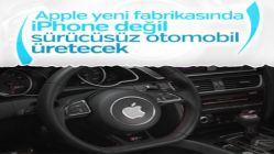 Apple'ın sürücüsüz aracı Amerika'da üretilecek