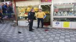 Ataşehir'de kuyumcu soygunu girişimi : 2 yaralı