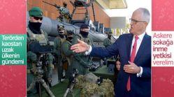Avustralya'da askere yeni yetki