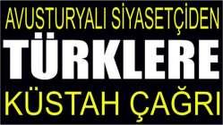 Avusturyalı siyasetçiden Türklere küstah çağrı