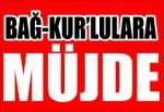 Bağ-Kur'lulara Müjde