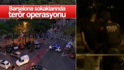 Barselona'da terör operasyonu